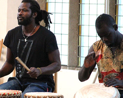 Papa Thioune & Ndiaga Dop